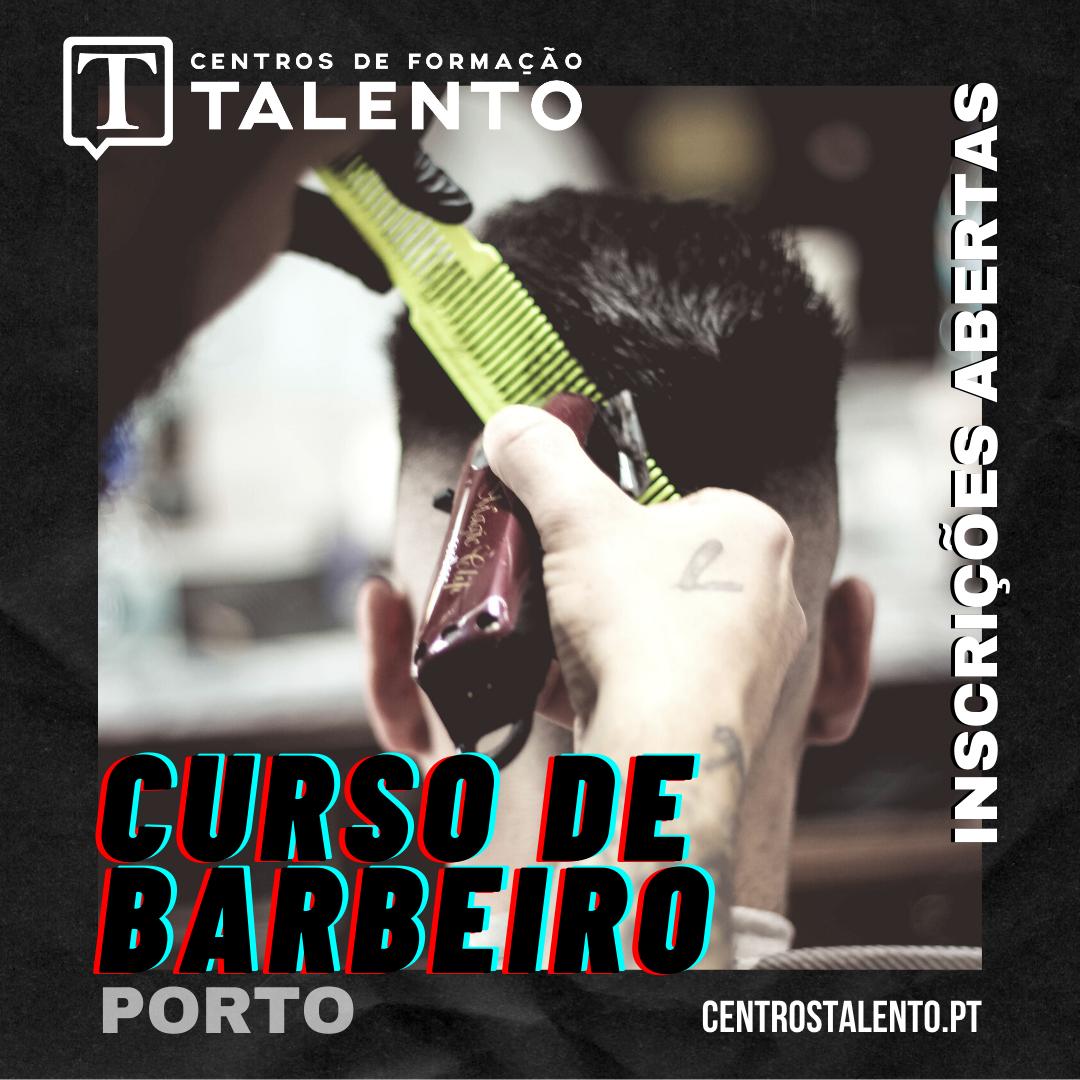 Curso de Barbeiro - Porto